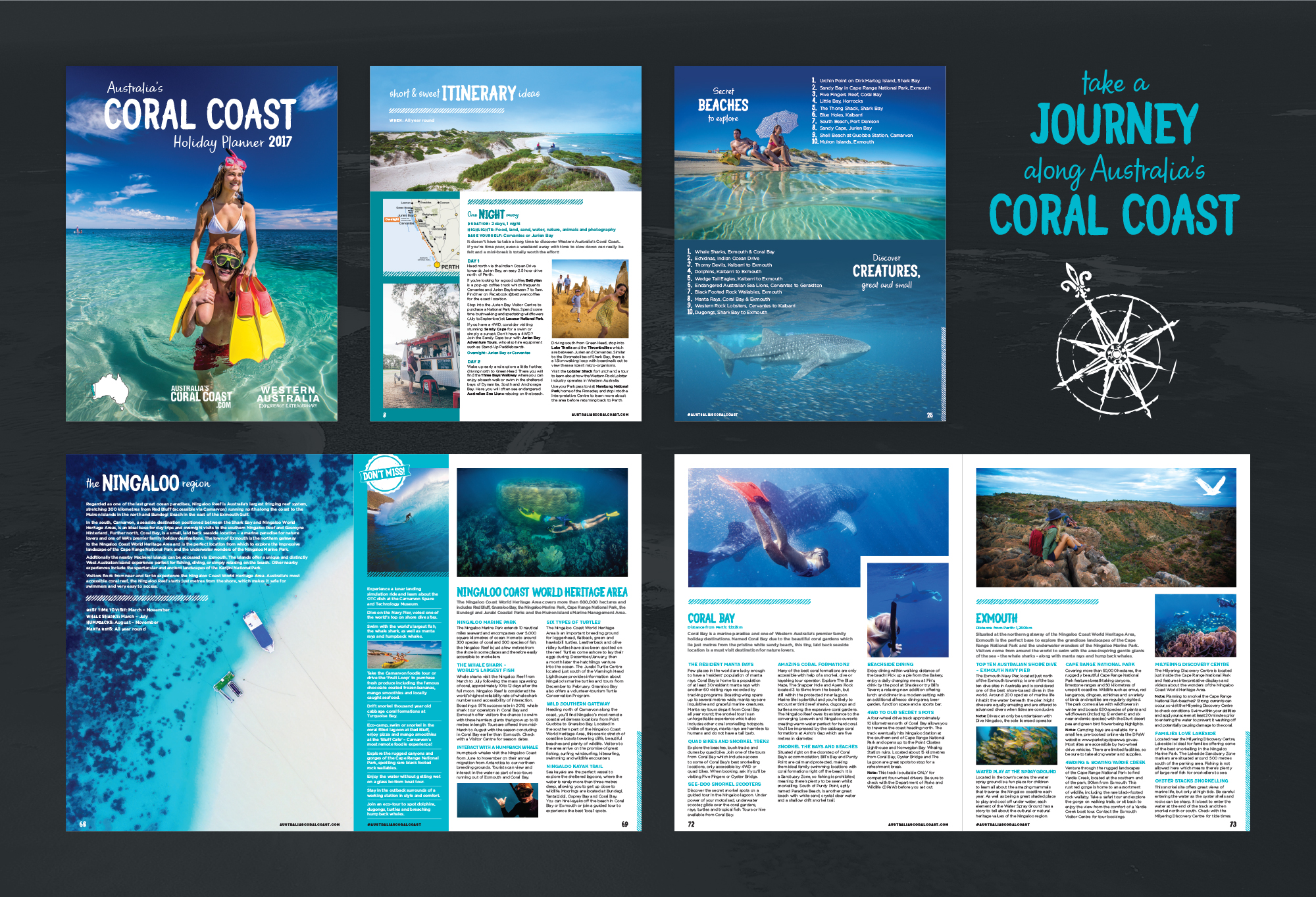 Australia's Coral Coast Holiday Planner